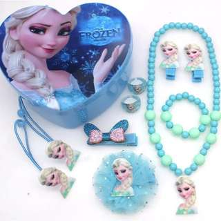 Little Girl Accessory w Casing Set - HGR981  Design: as attach photo