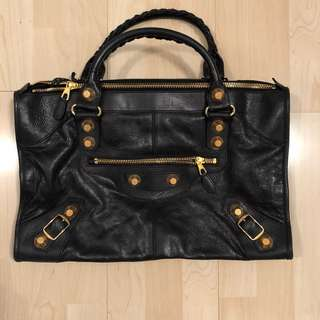 Balenciaga classic black handbag