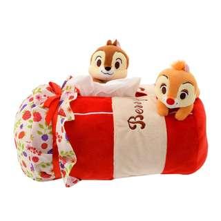 日本 Disney Store 直送 Hello Chip n Dale 系列 Chip n Dale 紙巾盒 / 紙巾套