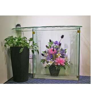 Reception Glass Table