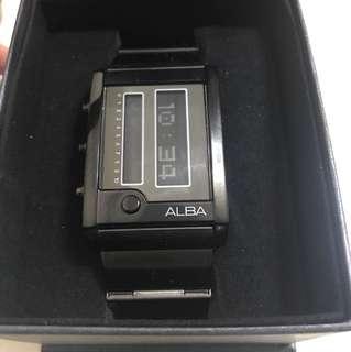 全新Alba 電子手錶一隻