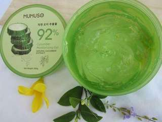 ORIGINAL MUMUSO Cucumber Moistirizing Gel. 😍😍😍