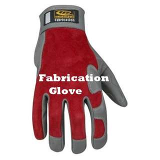 TiG Welding/Fabrication Gloves  100% genuine leather Double layer palm Heat resistant top panel Kevlar stitching throughout