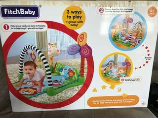 FitchBaby safari gym