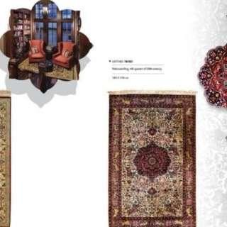 SAMEYEH LOT NO 16183 PAKESTANI 205 X 128 CM
