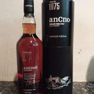 [絕版][限量]anCnoc 1975 39 years old