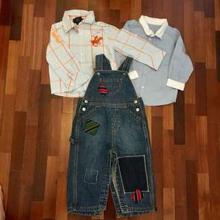Bundle preloved for 2yo, cond: 9/10