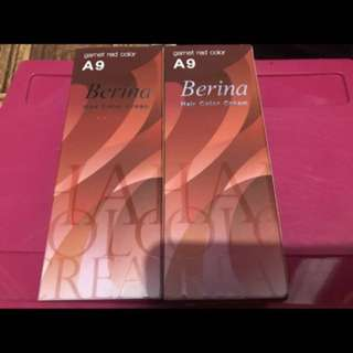 BERINA A9 GARNET RED COLOR