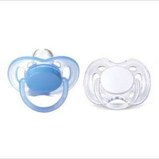 PHILIPS AVENT FREE FLOW ORTHODONTIC PACIFIERS