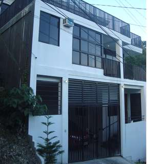 3 Storey Semi-Furnished House and Lot with Overlooking View for Sale