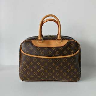 Authentic Louis Vuitton Deauville Tote