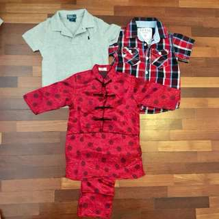 Bundle preloved for 3yo, Cond:9/10