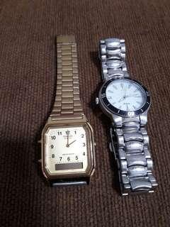 Jam tangan casio dan guess
