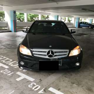Merc C200 for rent