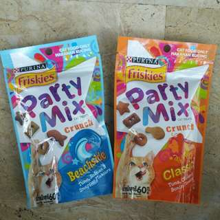 Party Mix Cat Treats :)