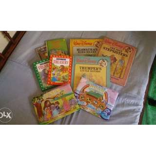 9+1 hardbound Storybooks for kids