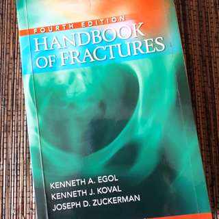 Handbook of Fractures 4th Edition