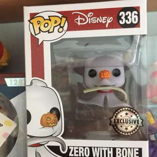 Zero with bone exclusive funko pop