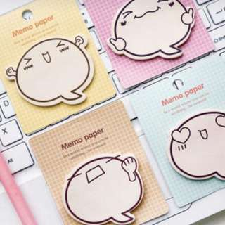 Emoticon Expression Post It Note Sticky Memo