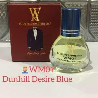 WM01 Dunhill Desire Blue