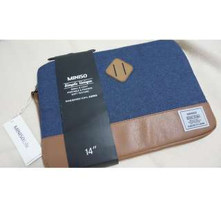 Miniso Blue Jeans laptop Sleeve
