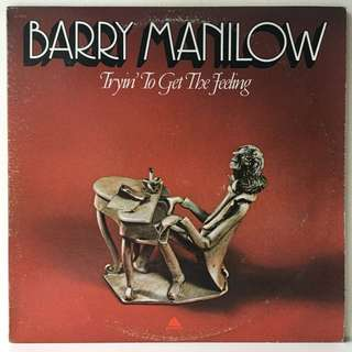 Barry Manilow – Tryin' To Get The Feeling (1975 USA Pressing - Vinyl is Excellent)