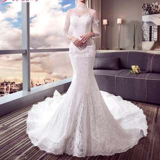 Wedding Gown For Sale white mermaid
