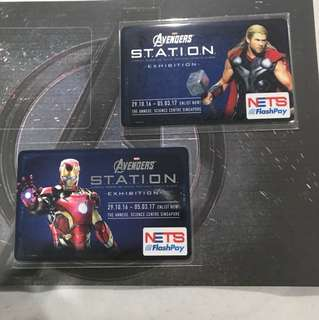 Ironman/Thor each Ezlink Card
