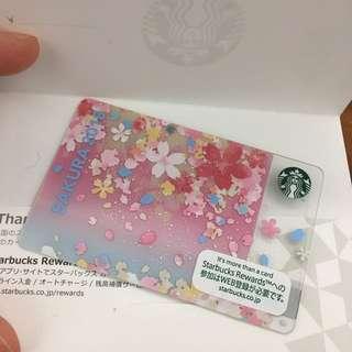 2018 日本限定 星巴克 櫻花卡 starbucks card sakura 2018