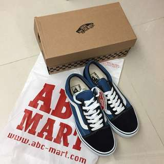 (Brand new) VANS V36CL+ OLD SKOOL DX 0002 Navy EUR37 23.5cm