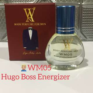 WM05: Hugo Boss Energizer body Perfume