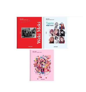 "[WTS] [Ready Stock] Weki Meki ""Lucky"" & ""WEME"" album"