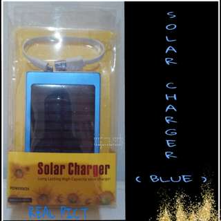Solar Charger - Blue🙏Tidak Berlaku Promo Discount WS🙏