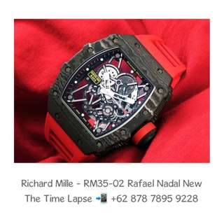 Richard Mille - RM35-02 Rafael Nadal NTPT Carbon (New in Box)