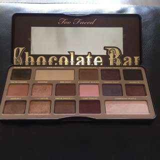 Too Faced Chocolate Bar Palette Free gift with purchase