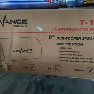 Speaker Advance T03 Subwoofer