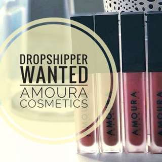 Dropship Wanted for Amoura Cosmetics