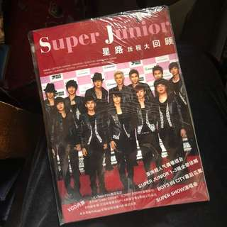 super junior 星路歷程大回顧/影集 連光碟加poster