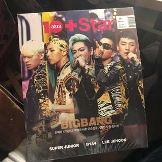 korea 10 asia + star magazine(big bang/super junior/B1A4/lee jehoon)全新未開 值得珍藏 購自韓國