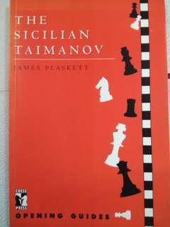 The Sicilian Taimanov by GM James Plaskett (Chess Book)