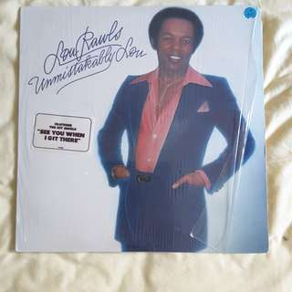 Lou Rawls - Unmistakably Lou Vinyl Record