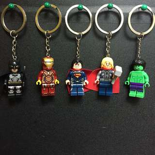 Minifigs with keychain