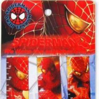 Spiderman Magnetic Bookmark Only One Pack Left (6 In One Pack)