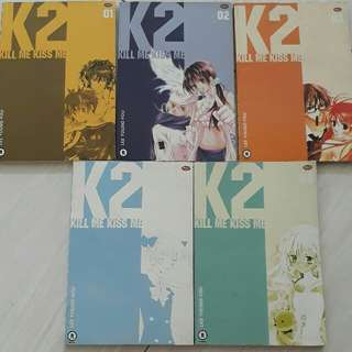 komik K2 kill me kiss me no. 1-5 tamat