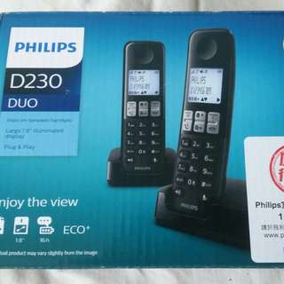 Philips D230 Duo Cordless Phone