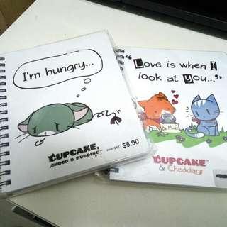 Notebooks Cupcake Choco & Pudding