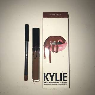 REAL UNUSED KYLIE JENNER LIP KIT BROWN SUGAR