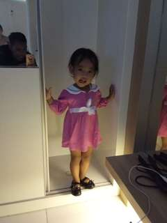 Dress pink #maumothercare