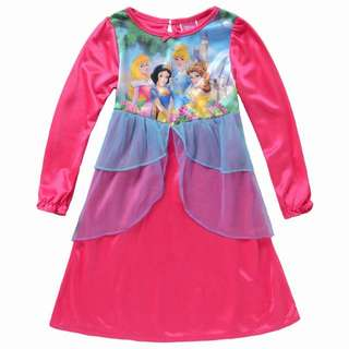 New Disney Princess Snow White Cinderella Dress 公主裙 4T