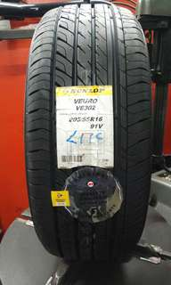 205/55/16 Dunlop VE302 Made in Japan